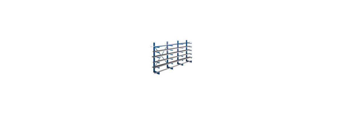 Kragarmregale für die horizontale Lagerung von Langgut - Kragarmregale für die horizontale Lagerung von Langgut