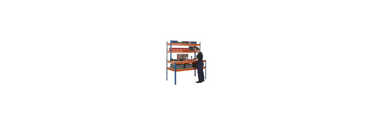 Packtische für optimale Bedingungen in der Versandabteilung - Packtische für optimale Bedingungen in der Versandabteilung